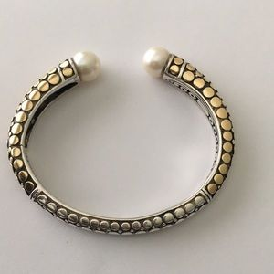 Jewelry - Silver and Gold Bangle Bracelet